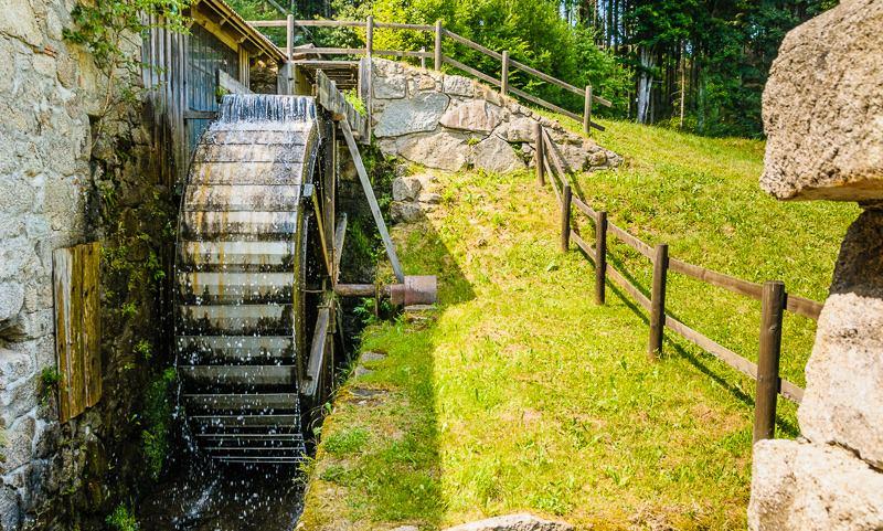 Thurytal Freistadt Wasserrad