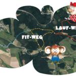 Flaps Fit-Weg und Lauf-Weg in der Zelletau in Freistadt