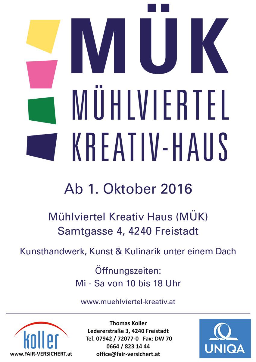 Eröffnung MÜK-Haus Freistadt 2016