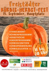 Kürbis-Herbst-Fest Freistadt 2017