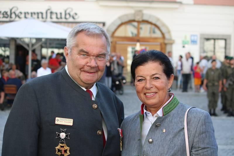 Angelobung Bundesheer Am Freistädter Hautplatz Freistadt