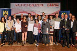 WKO Freistadt zeichnet Freistädter Traditionsbetriebe aus