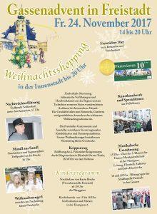 Gassenadvent Freistadt 2017