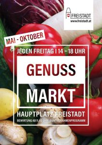 Genussmarkt Plakat