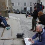 Bellyland Musikdreh in der Altstadt Freistadt