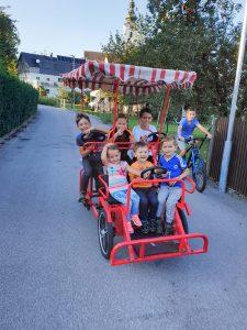 Rikscha Familienrad Freistadt