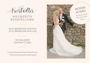 Hochzeitsausstellung Freistadt 2019