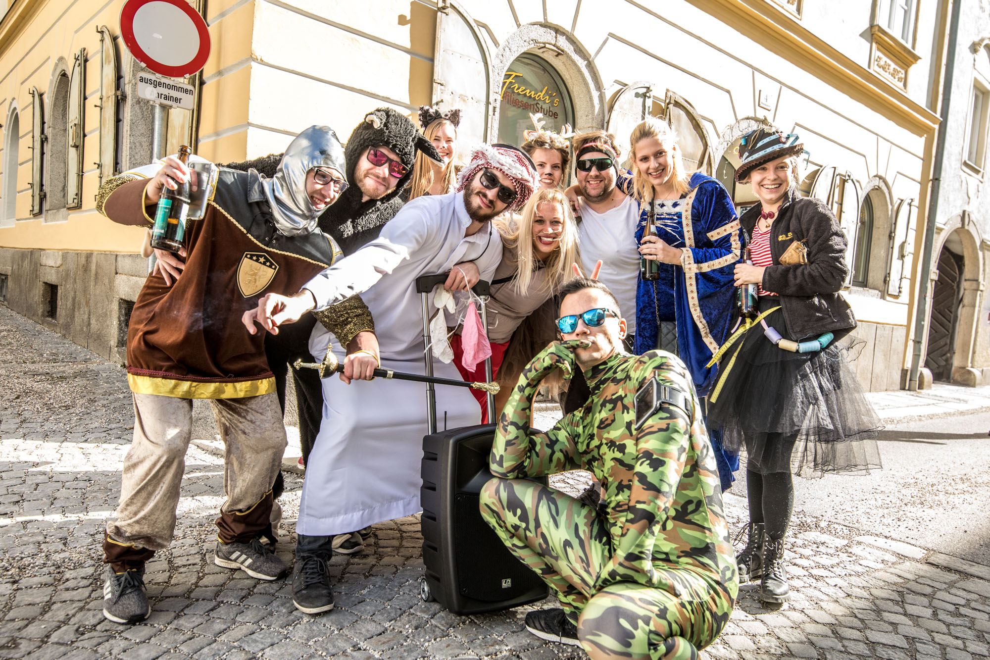 Fasching in Freistadt 2019